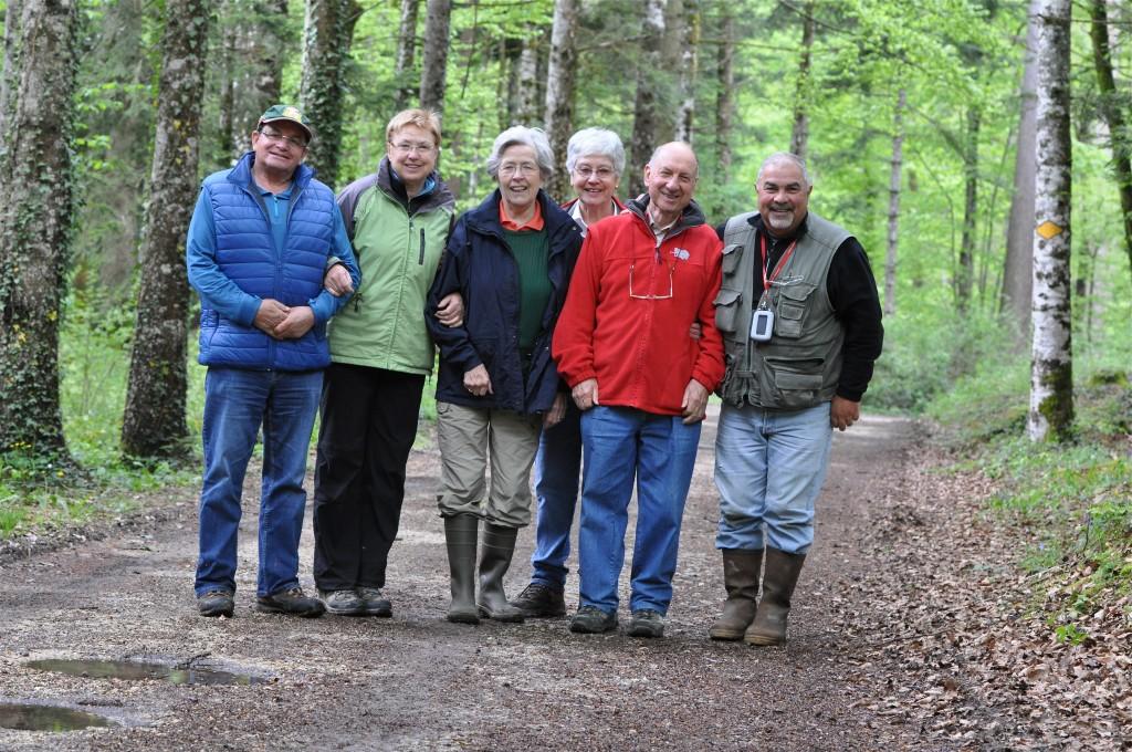 La myco dans la forêt de Chassagne près de Lignerolle. 2 mai 2015
