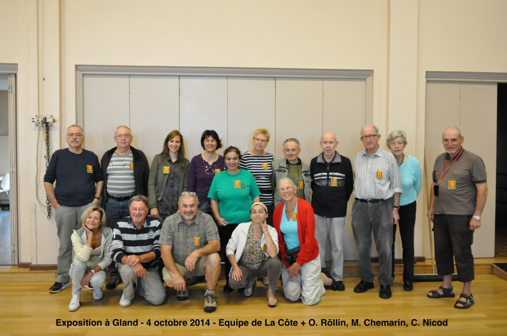 Membres lors de l'Expo - Gland - 4 octobre 2014 (7) copie