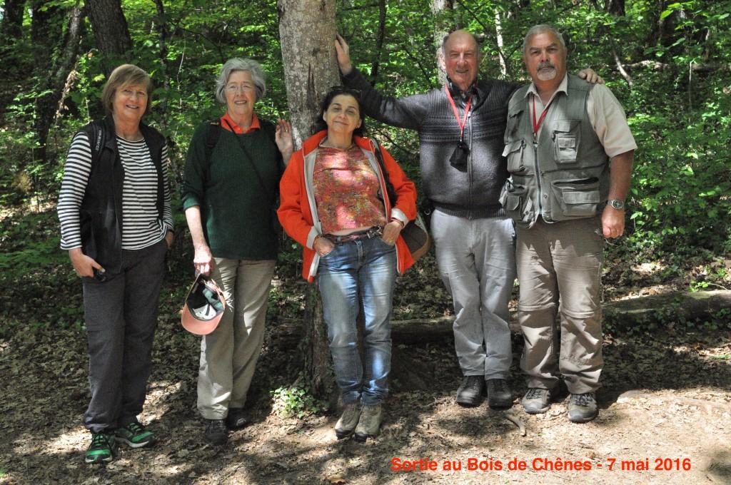 Sortie au Bois de Chênes - 7.5.2106